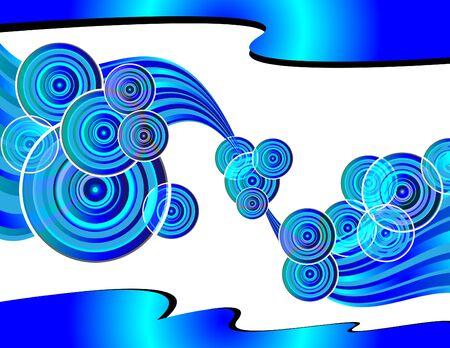 Retro Circle Wave Stock Vector - 11042126