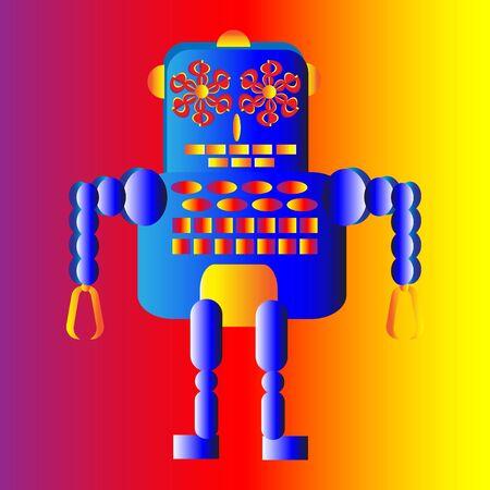 Robot Ilustração