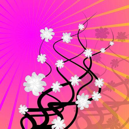 twisty: Sunbeam Floral