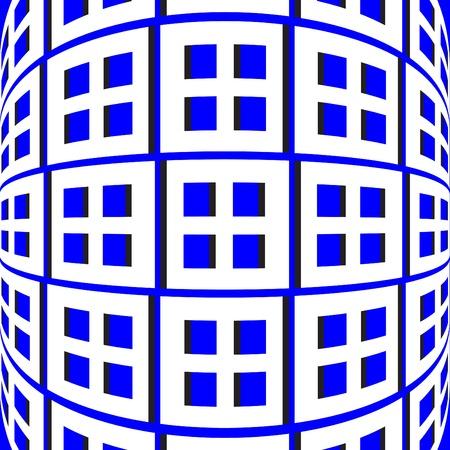 Blue Bender  (motion illusion)