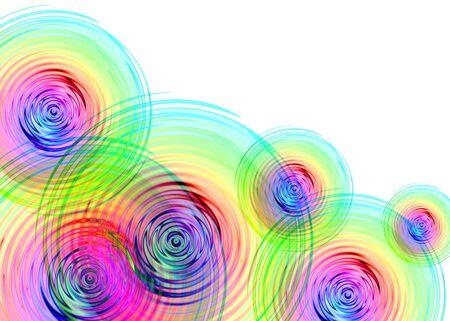 Rainbow Ripples Фото со стока