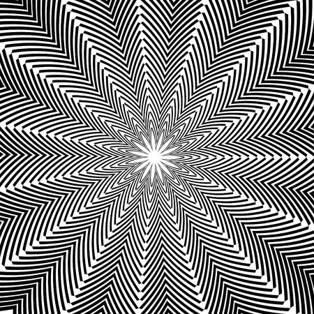 Folded Star Иллюстрация