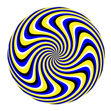 hypnotic: Spin Marble  (motion illusion)