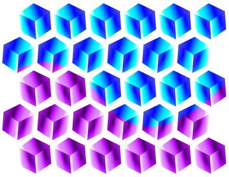 Cubic Conundrum  (motion illusion)