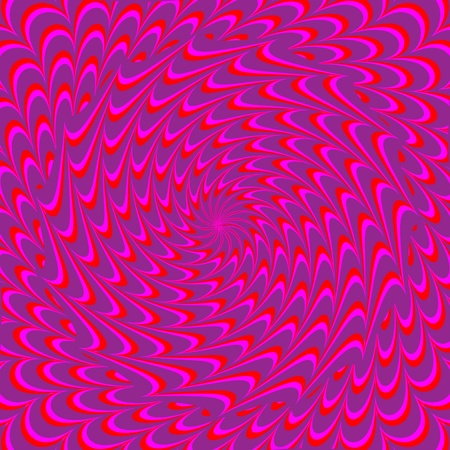 magenta decor: Magenta Mirage  (motion illusion)