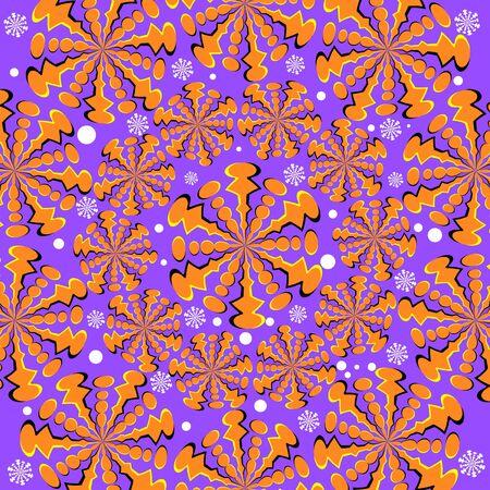 Spin Flakes Fantasy  (motion illusion)