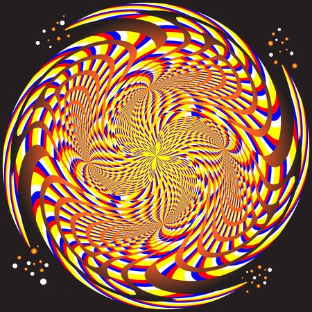 Alive!  (motion illusion)