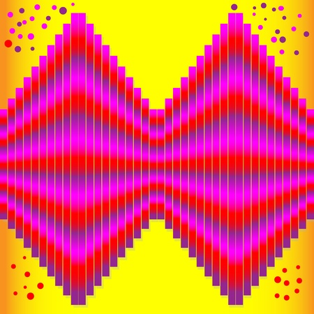 Vibrancy  (motion illusion) Vector