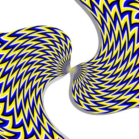tollas: Tollas (mozgás illúzióját) Illusztráció