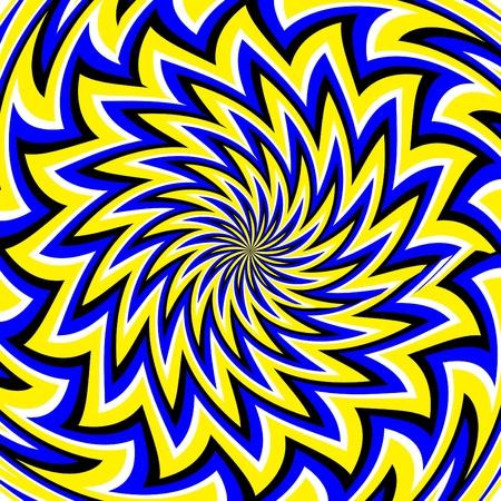 zigzag: Blooming Magic  (motion illusion)