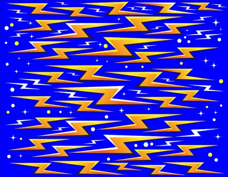 bolt: Flashes!  (motion illusion) Illustration