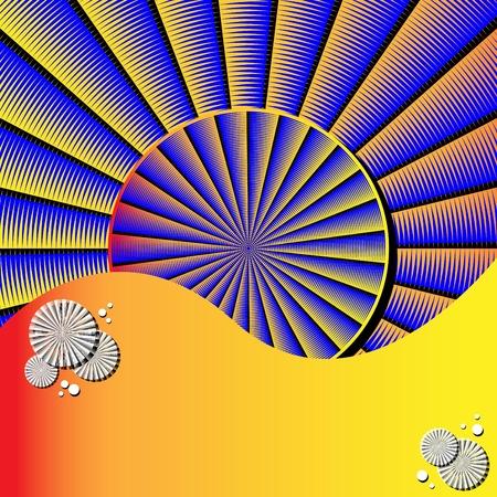 Spin Disk Presentation  (motion illusion) Иллюстрация