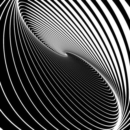 op art: Waves of Time