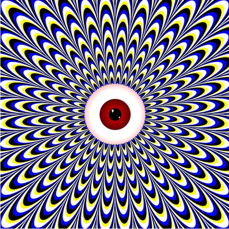 hypnotic: Red Eye Illusion