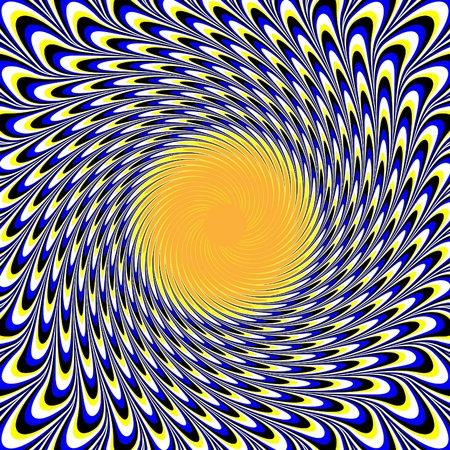 optical illusion: Sunswirl