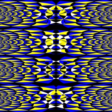 Magical Mosaic   (motion illusion)