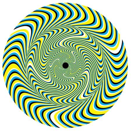 Swirlpool Disk     motion illusion