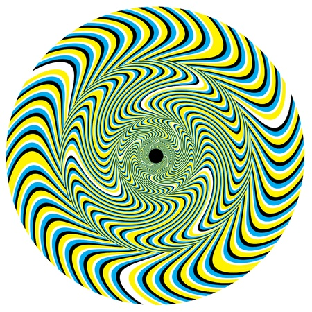 Swirlpool Disk     motion illusion