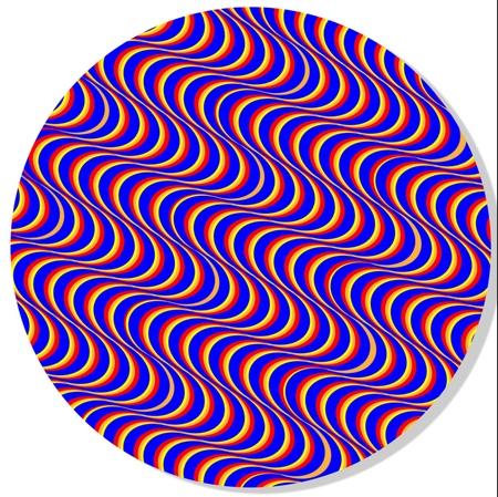 Vibrating Illusion Disk Stock Photo - 13276939