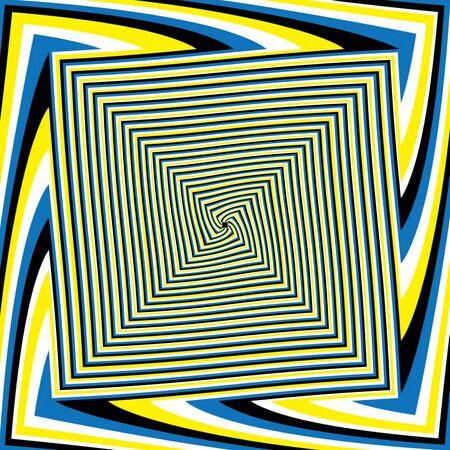 A-Maze-O   motion illusion