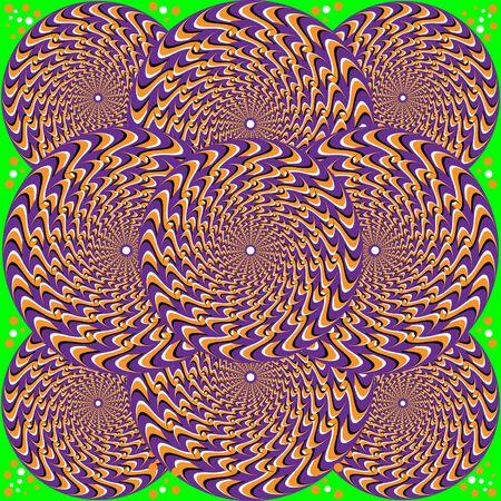 Ornamental Rotating Wheels