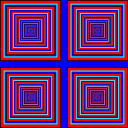 Square Deal    motion illusion