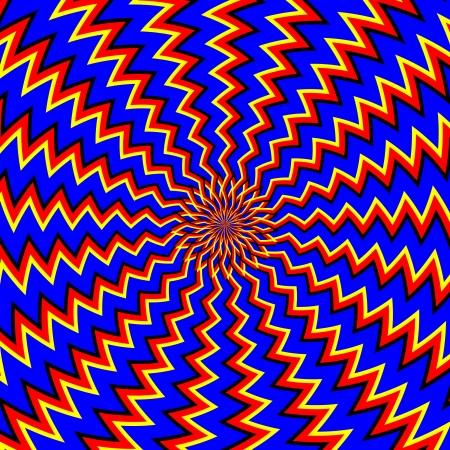 rotating: One More Go-around     motion illusion