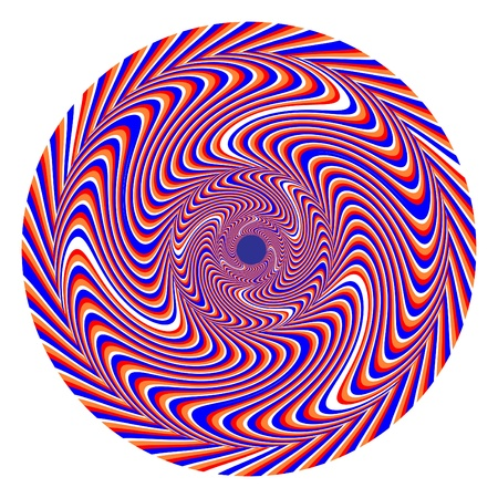 hypnotic: Swirlpool  2 Disk    motion illusion