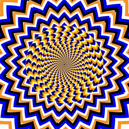 スピン波運動錯覚