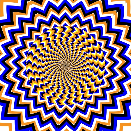 psychedelic background: Spin Waves     motion illusion