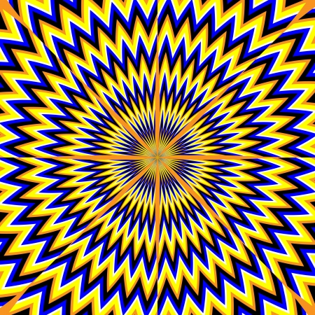 illusions: Star Burst     motion illusion