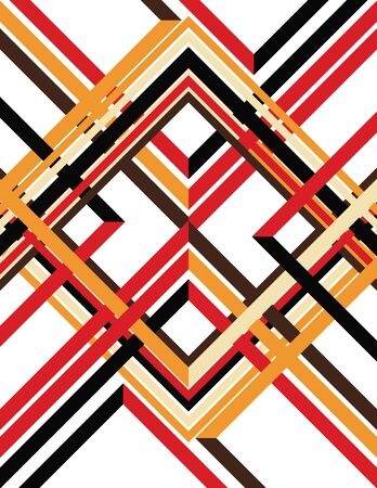 diagonal lines: All the Angles Illustration