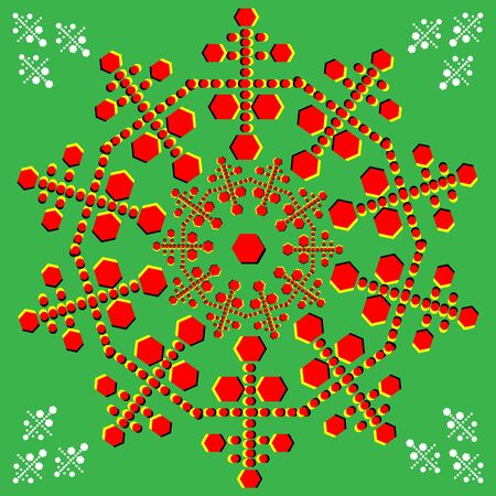 spin: Spinning Ornament    motion illusion