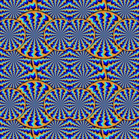 version: Super-Illusion-O    (orange version) Stock Photo
