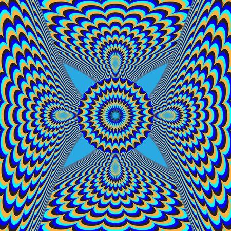 dizzy: Dizzy Deco      motion illusion