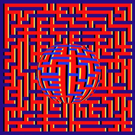 floating: Floating Maze Ball