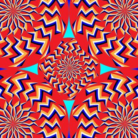wonderment: Five-wheel Wonderment     (motion illusion)