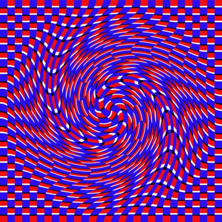 Sinuosity     motion illusion photo