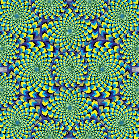 rotating: Wonderland of Wheelies     motion illusion