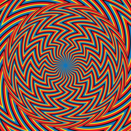 Zigzagger      motion illusion