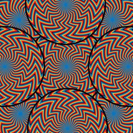 Zigzagger Wheels     motion illusion