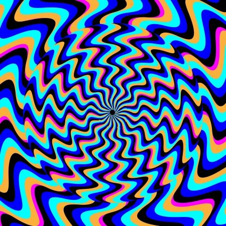 illusory: Ant�tesis movimiento ilusorio Vectores