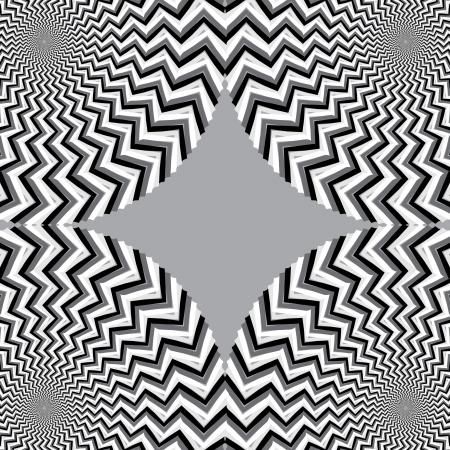 Nuances de Shifty illusion de mouvement Gris