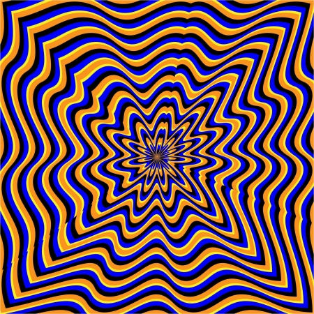 Amorphous    motion illusion