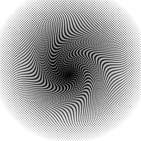 Halftone Twister Reklamní fotografie - 18357217