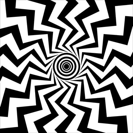 bullseye: Zickzack-Bulls-eye