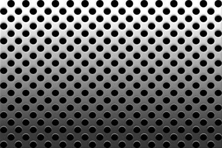 grille: Decorative Perforated Metallic Grille