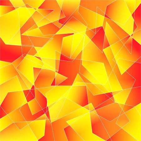 Shattered pattern  Illusztráció