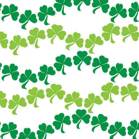 shamrock: Shamrocks Background Illustration