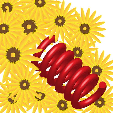 flexible: Spring Flowers Stock Photo